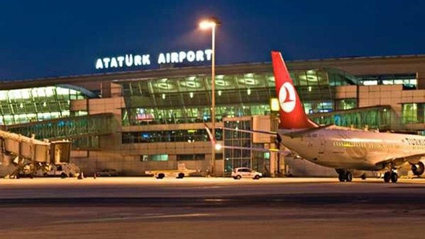 Ataturk Airport is shown.