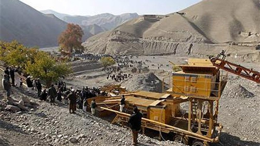 The return of the Taliban has wrested away Kabul's control of Afghanistan's lucrative mines. (Reuters)