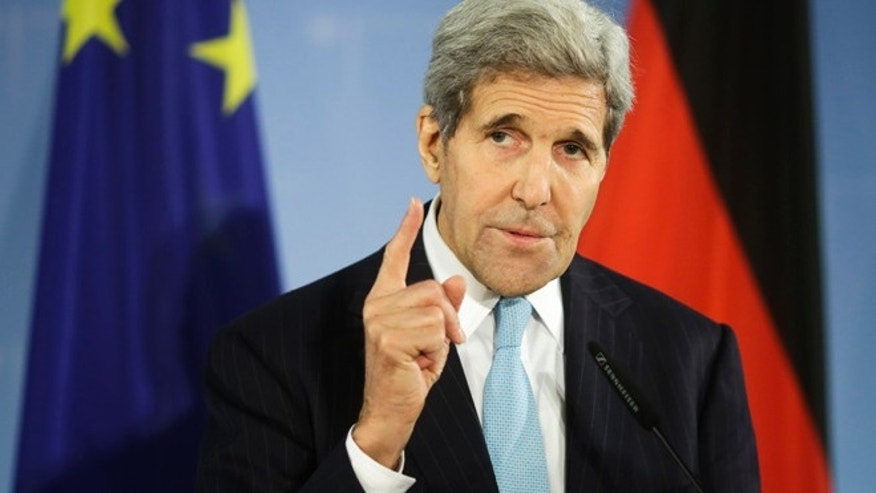 Oct. 22, 2015: U.S. Secretary of State John Kerry briefs the media.