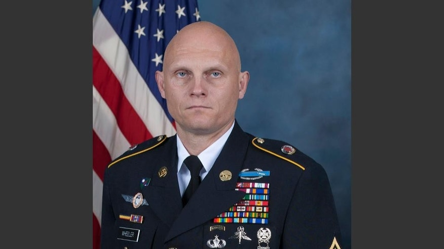 This photo provided by the U.S. Army shows Master Sgt. Joshua L. Wheeler, who was killed in a raid against the Islamic State group in northern Iraq on Thursday, Oct. 22, 2015, according to a spokesman for the U.S.-led coalition in Iraq. Army Col. Steve Warren told The Associated Press that Wheeler and dozens of U.S. special operations troops and Iraqi forces raided a compound near the city of Kirkuk, freeing approximately 70 Iraqi prisoners from captivity. (US Army via AP)