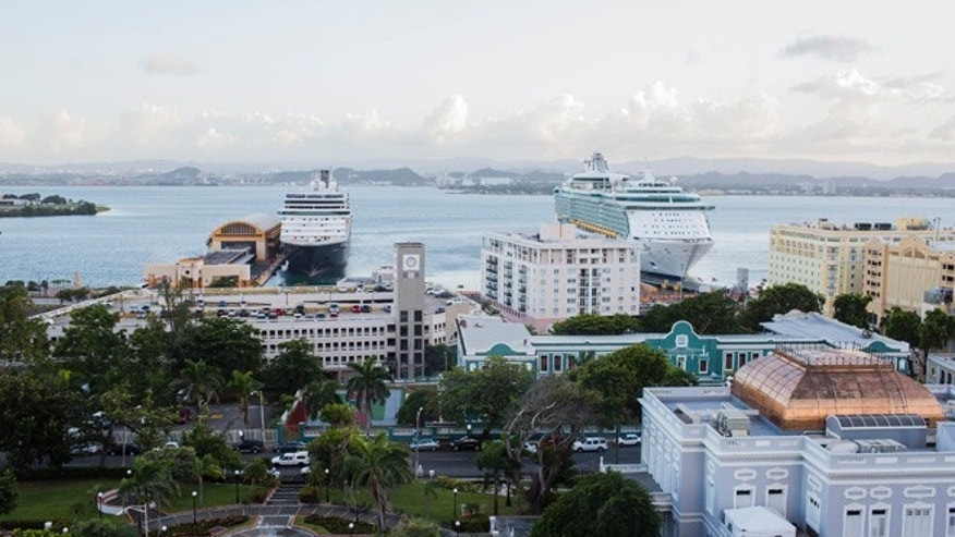 SAN JUAN, PUERTO RICO - NOVEMBER 12:  Cruise ships dock in Old San Juan, the center for Puerto Rican tourism, on November 12, 2013 in San Juan, Puerto Rico. (Photo by Christopher Gregory/Getty Images)