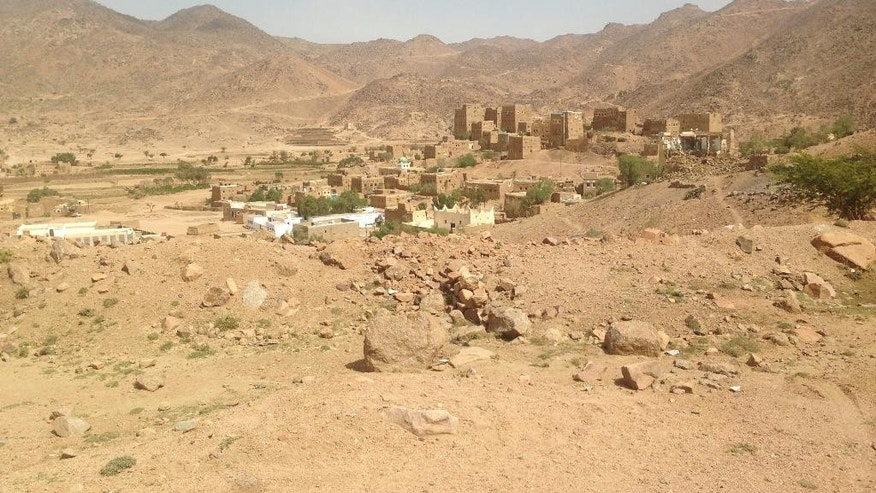 This image taken in July, 2015 and released by Médecins Sans Frontières , Wednesday, Oct. 28, 2015 shows the site of a hospital that was hit by an airstrike in Saada, Yemen. Airstrikes by the Saudi-led coalition targeting rebels in Yemen have destroyed a small hospital run by Doctors Without Borders in the northern province of Saada, although there were no deaths and only one injury, the aid group said Tuesday. (Médecins Sans Frontières via AP)