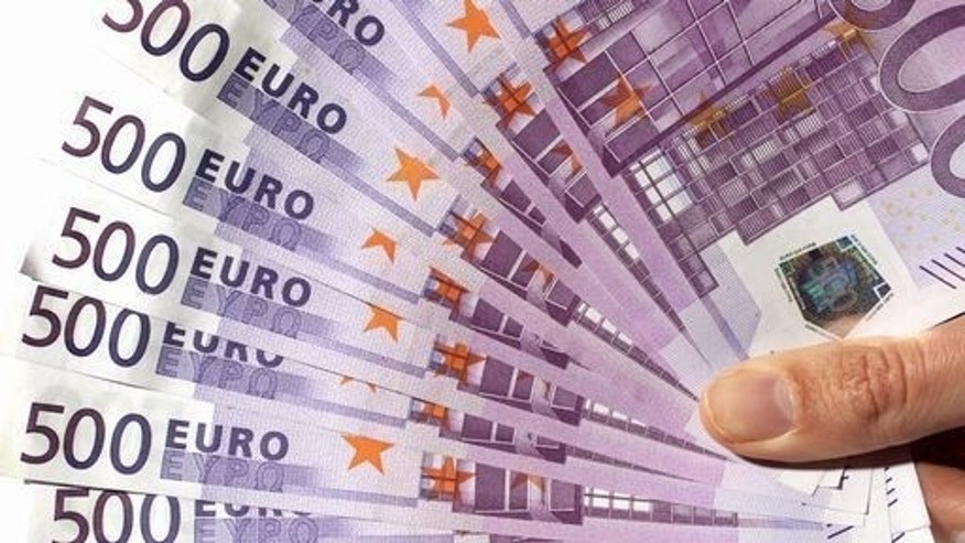 Prosecutors say a grandmother shredded Euro notes worth more than a million dollars.