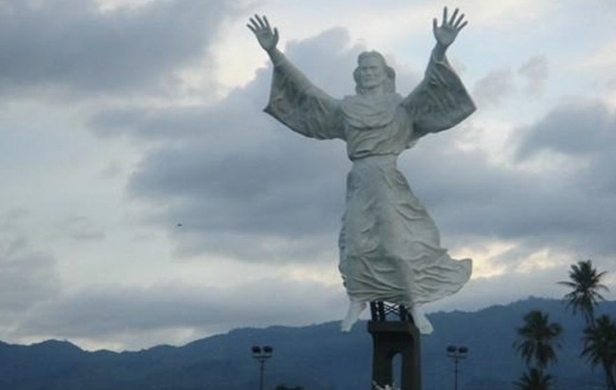 This statue of Jesus famously towers over one Indonesian city, but extremists Muslims are making life hard for followers of Christ.