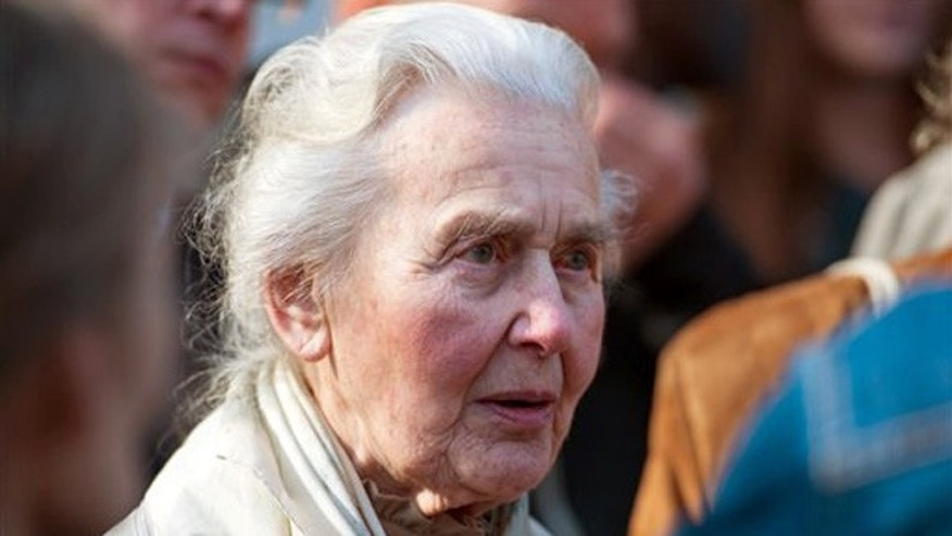 "A German court jailed 87-year-old ""Nazi grandma"" Ursula Haverbeck for denying the Holocaust. (Associated Press)"
