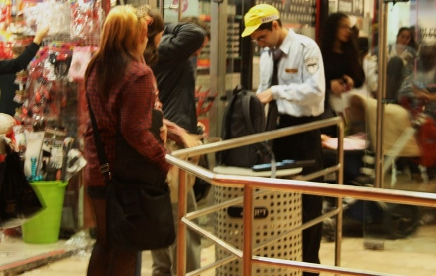 Israelis were also once reluctant to submit to searches and encounter metal detectors at malls and government buildings, but in the face of an unrelenting terror threat, such inconveniences have become part of life. (AP)