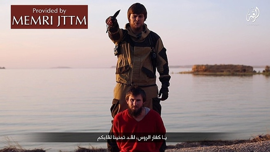 ISIS sent a chilling message to Moscow Wednesday, releasing a video showing the beheading of a Russian who they accused of being a spy.
