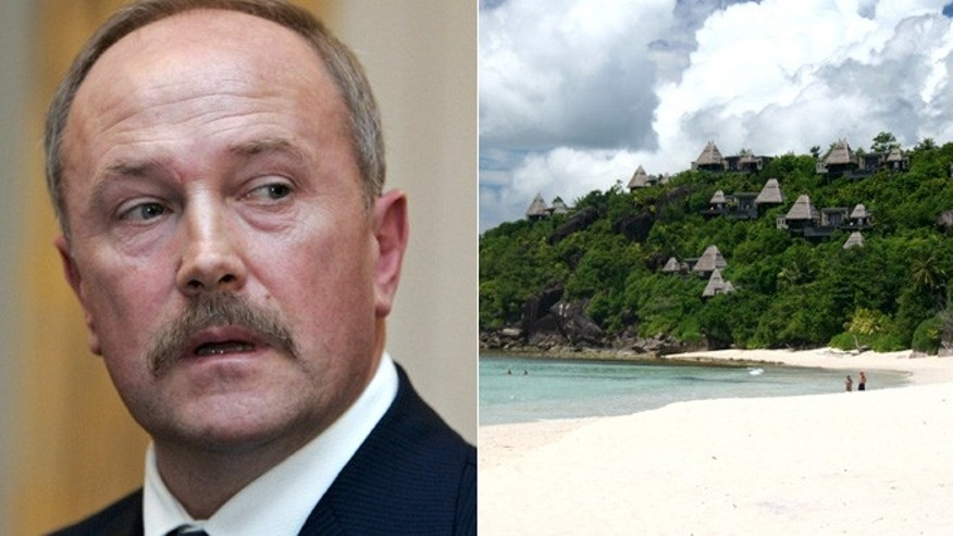 The head of Russia's tourism Oleg Safonov says he's now sold his properties in the Seychelles.