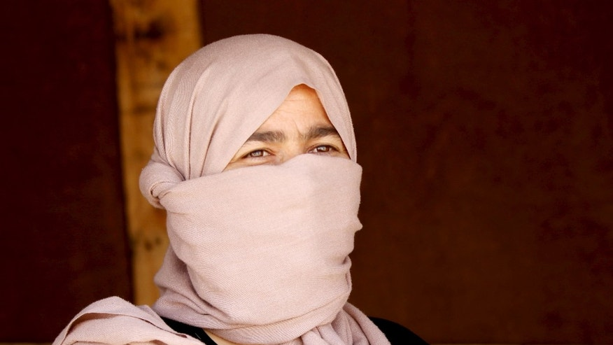 July 4, 2015: A Yazidi woman who escaped ISIS captivity. (Reuters)