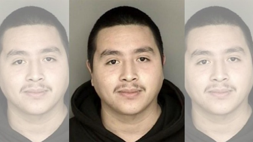 Alleged selfie-robber Victor Almanza-Martinez. (Photo: Pacific Grove Police Department)