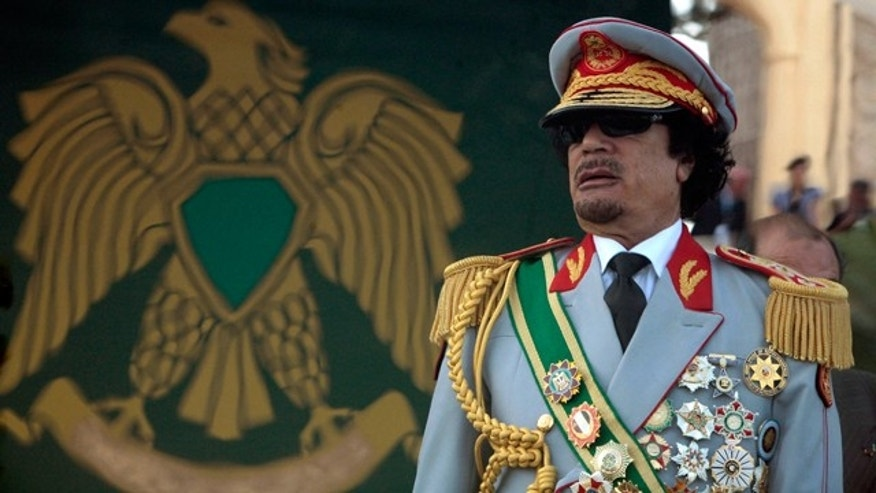 Qaddafi warned Blair that jihadists would cross into Europe. (Reuters)