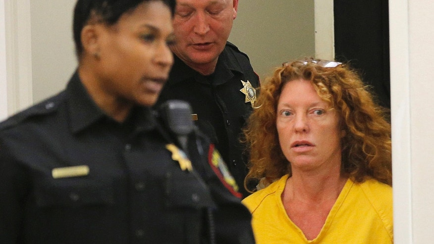 "Tonya Couch appears in court in Fort Worth, Texas, Friday, Jan. 8, 2016. The mother of Ethan Couch, who used an ""affluenza"" defense after killing people in a drunken-driving wreck, appeared in court on a charge of hindering the apprehension of a felon. (Rodger Mallison/Star-Telegram via AP, Pool)"