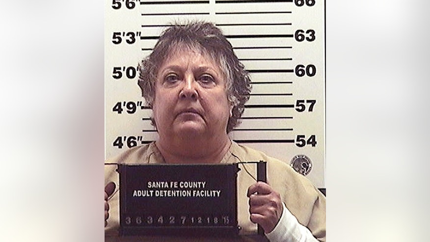 FILE - This Dec. 18, 2015 file photo provided by the Santa Fe County Jail shows former New Mexico Secretary of State Dianna Duran. Duran was released Sunday, Jan. 17, 2016, from a Santa Fe County jail after a 30-day sentence for using political campaign funds to fuel a gambling spree. (Santa Fe County Jail via AP, File)
