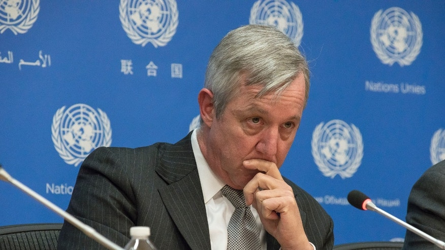 U.N. Assistant Secretary General for Field support Anthony Banbury on Friday.