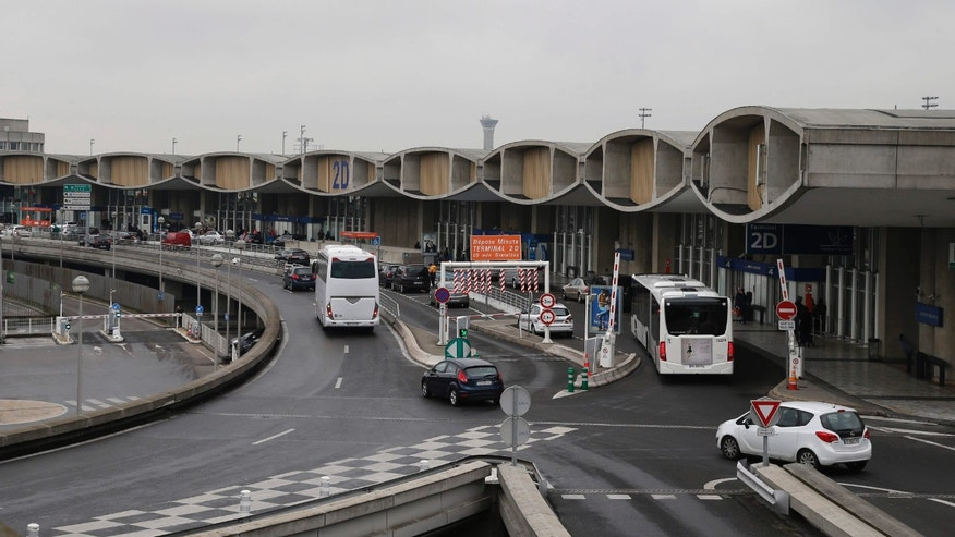 Jan. 27, 2016: General view of Paris' Charles de Gaulle airport Terminal 2D in Roissy, France