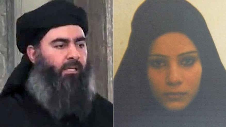 Baghdadi, (l.), is married to the older sister of Kurdish prisoner Duaa Amid Ibrahim, an Al Qaeda widow and failed suicide bomber.