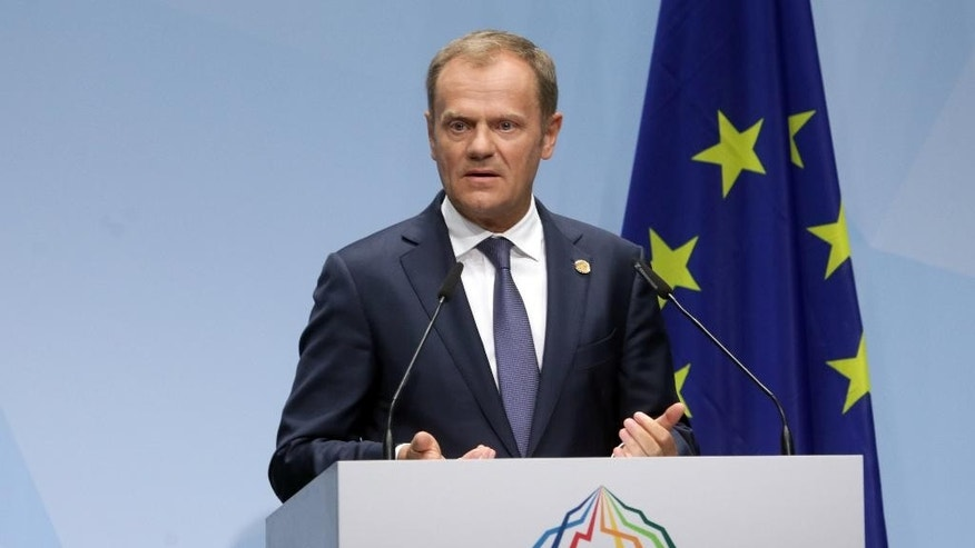 Donald Tusk in June.