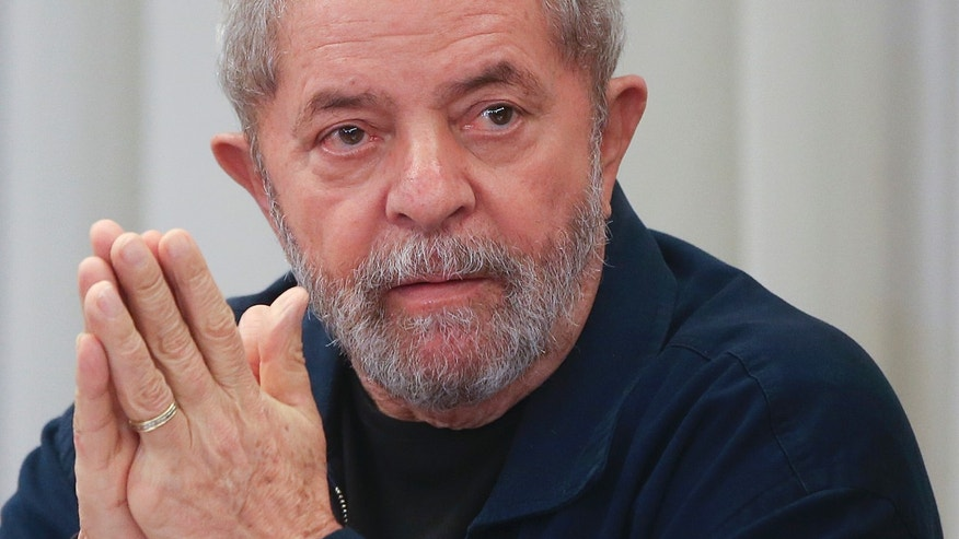 President Luiz Inacio Lula da Silva on March 30.