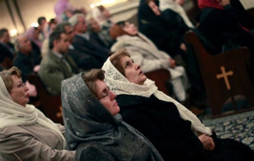 Christians in Iran are being driven to worship in secret house churches, and even there, they may face arrest. (Reuters)