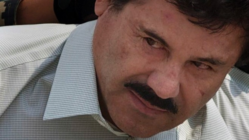 "Joaquin ""El Chapo"" Guzman in a 2014 file photo."