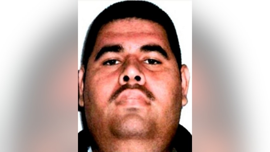 "This photo released by Mexico's Federal Police shows a man it identifies as Juan Manuel Alvarez, one of the alleged top money-launderers for drug lord Joaquin ""El Chapo"" Guzman, in an unknown location.  Federal police said on its Twitter account Sunday, March 27, 2016 that Alvarez was arrested in Oaxaca state."