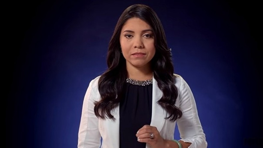Former Olympic shooter Gabby Franco featured in Freedom's Safest Place advertisement.