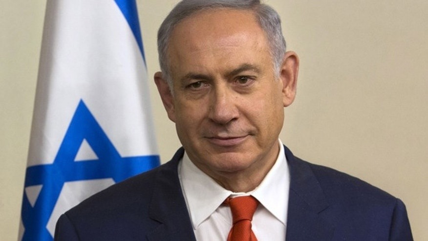 FILE 2016: Israeli Prime Minister Benjamin Netanyahu seen at his office in Jerusalem.