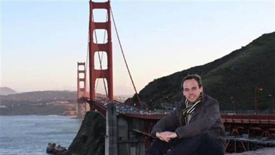 Andreas Lubitz in San Francisco, in an undated photo.