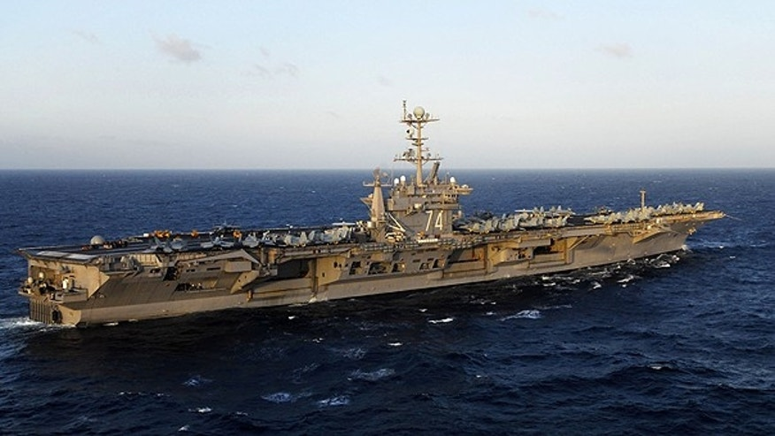 The aircraft carrier USS John C. Stennis in 2009.