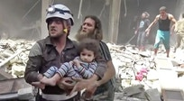 Air strikes on Aleppo amid calm in other parts of Syria