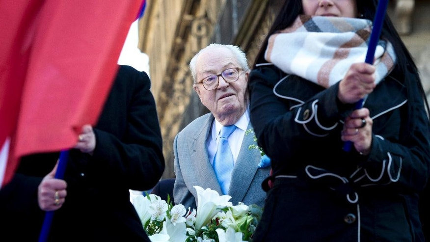 Jean-Marie le Pen on Sunday.
