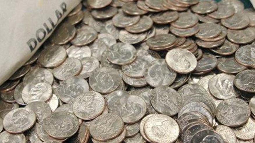 U.S. American Eagle coins are shown. (AP)