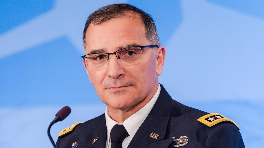 NATO's supreme allied commander Europe U.S. Army General Curtis M. Scaparrotti.