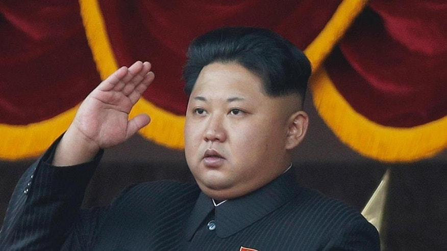 FILE - In this Oct. 10, 2015, file photo, North Korean leader Kim Jong Un salutes at a parade in Pyongyang, North Korea. North Korea on Friday, May 6, 2016, opened the first full congress of its ruling party since 1980, a major political event intended to showcase the country's stability and unity under leader Kim Jong Un despite international criticism and tough new sanctions over the North's recent nuclear test and a slew of missile launches. (AP Photo/Wong Maye-E, File)