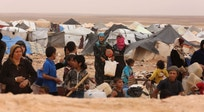Fighting in Aleppo leads to refugee record at Jordan border