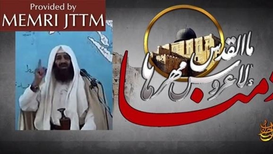 May 9, 2016: Archival footage of Usama bin Laden included in a video featuring the late terrorist's son, Hamza bin Laden. (The MEMRI Jihad and Terrorism Threat Monitor)