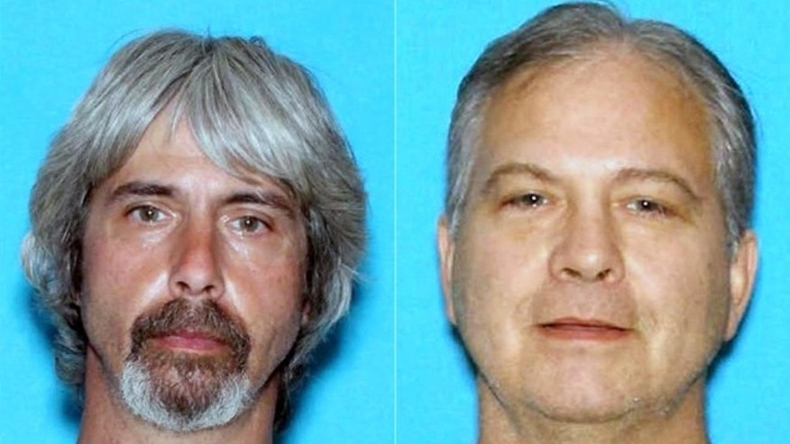 Tony Reed, left and John Reed in undated booking photos provided by the Snohomish County Sheriff Office. .