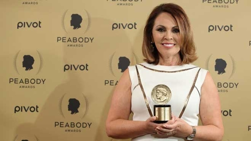 NEW YORK, NY - MAY 31:  Reporter for Univision Networks News, Mar?a Elena Salinas attends The 74th Annual Peabody Awards Ceremony at Cipriani Wall Street on May 31, 2015 in New York City.  (Photo by Jemal Countess/Getty Images for Peabody Awards)