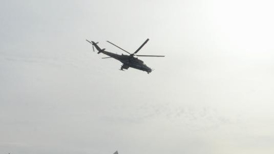 Russian Helicopters Reportedly Destroyed In Attack On Syrian Base