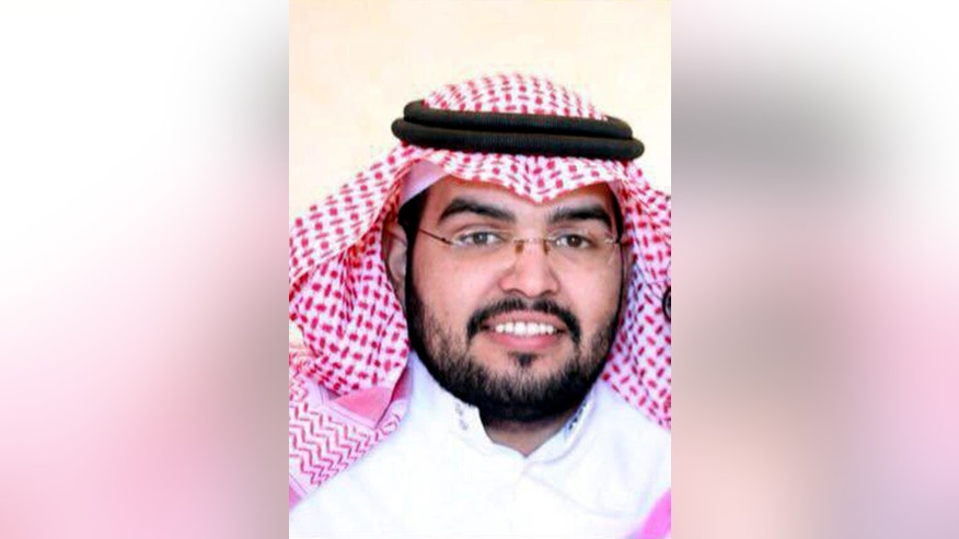 This July 2013 photo provided by Abdulaziz al-Shubaily, shows Abdulaziz al-Shubaily in the al-Qassim province of Saudi Arabia. Rights group Amnesty International said Monday, May 30, 2016 that a court in Saudi Arabia sentenced al-Shubaily, a member of an independent human rights organization, to eight years in prison in the latest guilty verdict to be issued against the group's members. Abdulaziz al-Shubaily was the only founding member of the Saudi Association for Civil and Political Rights, known by its Arabic acronym HASEM, not yet sentenced to a prison term. (Abdulaziz al-Shubaily via AP)