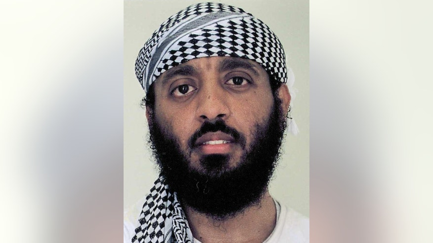 This undated photo released by James P. Harrington, the lawyer of Ramzi Binalshibh, shows his client Ramzi Binalshibh while he is detained at the Guantanamo Bay U.S. Naval Base in Cuba. A Somali prisoner at Guantanamo Bay told a military judge Thursday, June 2, 2016 that he has experienced what he believes are intentional noises and vibrations inside the high-security section of the prison known as Camp 7, echoing a defendant in the Sept. 11 war crimes case who has alleged he is the victim of deliberate attempts at sleep deprivation. The testimony was intended to support allegations by Sept. 11 defendant Binalshibh, who has alleged he has been subjected to intentional sleep deprivation, which his lawyer says interferes with his ability to participate in his defense. Binalshibh and four other Guantanamo prisoners face trial by military commission for planning and providing logistical support to the Sept. 11 hijacking plot.  They could get the death penalty if convicted. (James P. Harrington via AP, File)