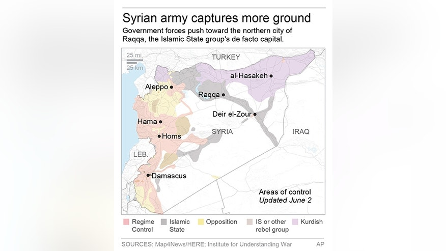 Islamic State group are losing areas they had controlled since they declared a self-style caliphate two years ago.