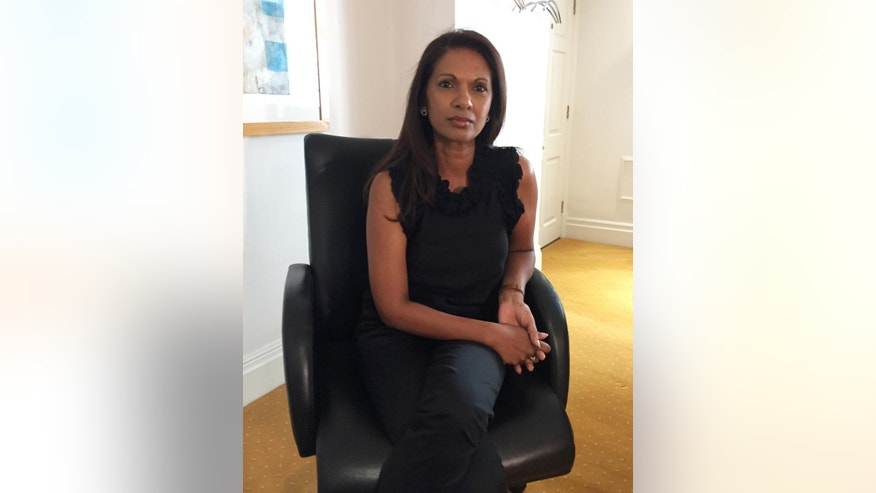 Gina Miller, founding partner and head of sales & marketing of the financial company SCM Driect, in London, Monday June 6, 2016.   Miller's investment firm is based in London but predicts turmoil with her own staff if Britain votes to leave the European Union.  From the international banks in the skyscrapers of Canary Wharf to the traditional home of Britain's financial industry in the City of London, bankers and money managers across the capital are watching the upcoming June 23 referendum on EU membership with trepidation. (AP Photo / Jonathan Shenfield)