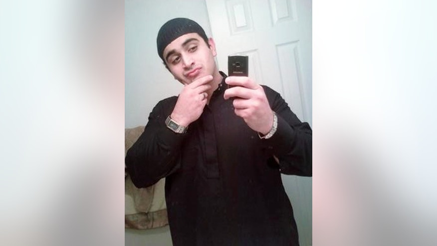 FILE -- This undated file image shows Omar Mateen, who authorities say killed dozens of people inside the Pulse nightclub in Orlando, Fla., on Sunday, June 12, 2016. U.S. authorities say Omar Mateen, the man who carried out the worst mass shooting in modern U.S. history, had touted support not just for the Islamic State but also other radical factions that are enemies of the Sunni militant group. He not only professed allegiance to IS but also expressed solidarity with a suicide bomber from the Syrian branch of al-Qaida, which is known as the Nusra Front and which is Islamic State's top rival. (MySpace via AP, File)