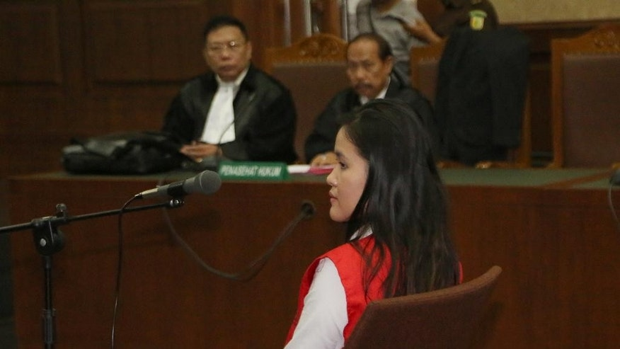 Jessica Kumala Wongso in court.