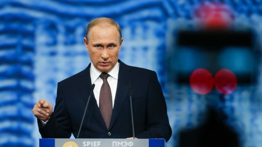 Russian President Vladimir Putin on Friday.