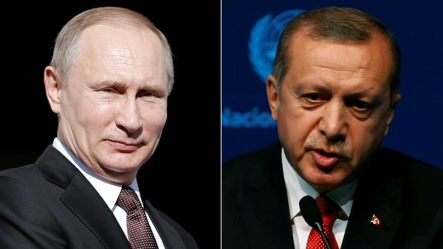 Russia: Turkish president 'sorry' for shoot-down of Russian military jet