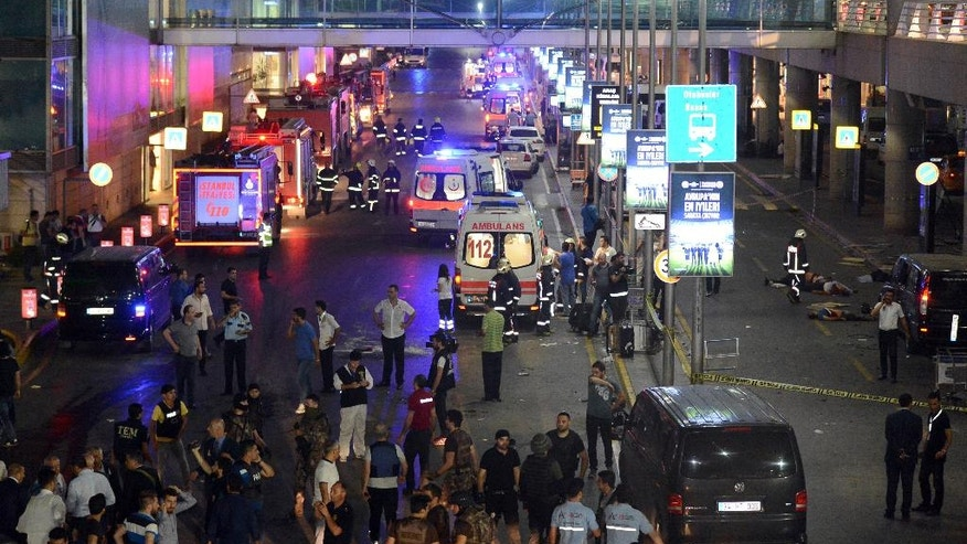 Istanbul Airport Attack: Witness Recounts Deplaning Into Chaos ...