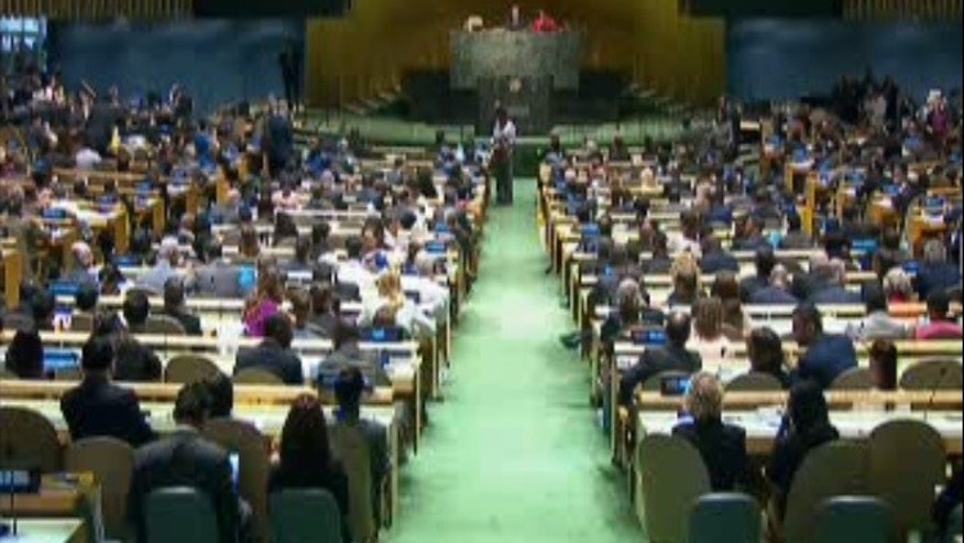 United Nations General Assembly voting.