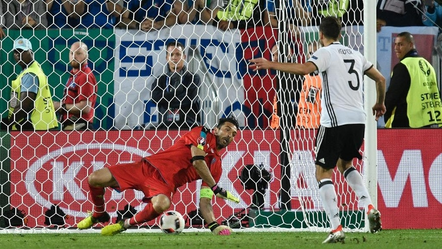 Germany vs. Italy Penalty Shootout Decides Euro Quarterfinal